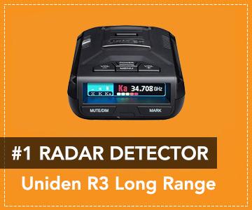 Uniden R3 Straight Cord